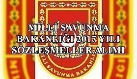 Milli Savunma Bakanlığı 2017 yılı sözleşmeli er alımı - Başvuru...