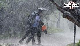 Dikkat! Meteorolojiden kuvvetli yağış uyarısı!