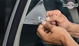 Araçlarda cam filmi ve renkli cam yeniden yasaklandı