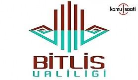 Bitlis'te sokağa çıkma yasağı! Hangi bölgelerde sokağa çıkma yasağı ilan edildi?