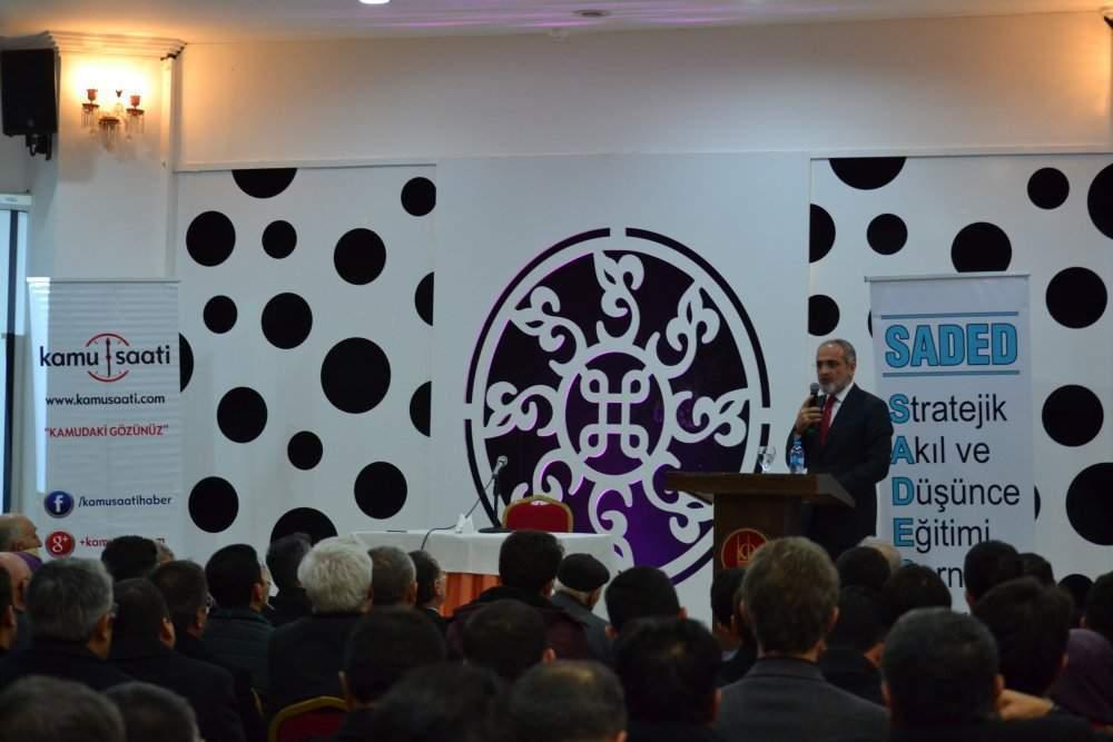 Yalcin Topcu SADED konferans