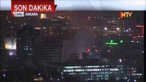 Ankara patlamasının son görüntüleri