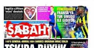 28 Temmuz 2016 Gazete manşetleri