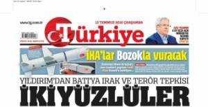 13 Temmuz 2016 Gazete Manşetleri