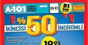 A101, ŞOK ve BİM Fırsat Ürünleri 26-31 Aralık 2016