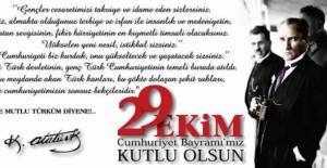 Resimli 29 Ekim Cumhuriyet bayramı mesajları