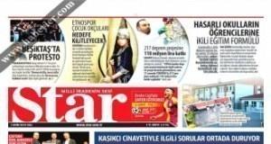 Gazete Manşetleri 1 Ekim 2019