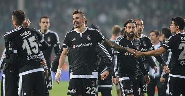 Beşiktaş son dakikalarda kazandı