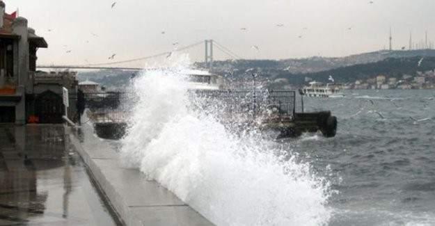 İstanbul'da yaşayanlara uyarı! Haftasonu Lodos geliyor