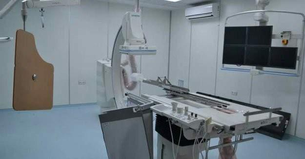Kilis Devlet Hastanesi'ne anjio cihazı kuruldu