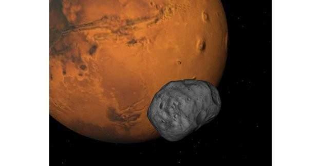 Mars'ta Satürn gibi halkalara mı sahip olacak?