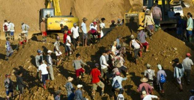 Myanmar'da heyelan felakete neden oldu