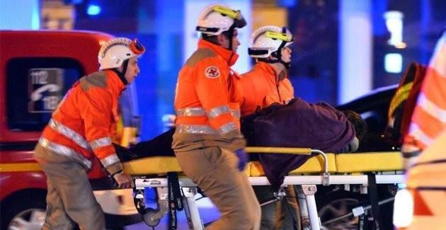 Paris saldırısı görüntüleri çıktı