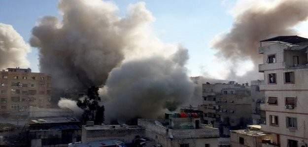 Rejim ordusundan roketli saldırı: 15 ölü