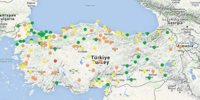 Türkiye'nin en temiz havası hangi şehirde?
