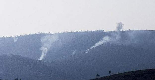 Bayırbucak Türkmen bölgesine yoğun top atışı
