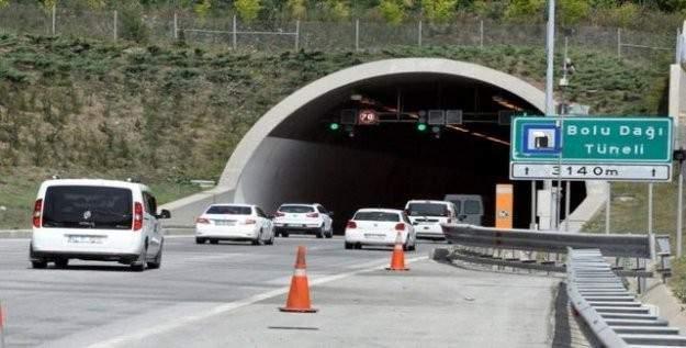 Bolu Dağı Tüneli trafiğe kapanacak