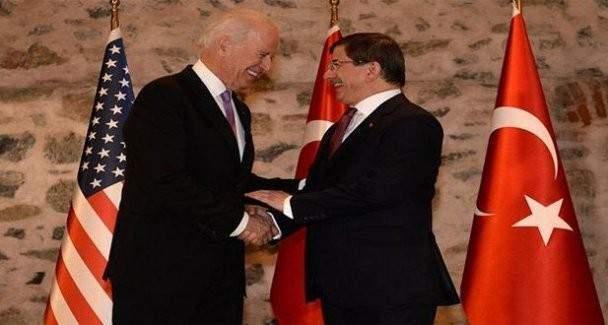 Davutoğlu ABD Başkan Yardımcısı Biden ile telefonda görüştü