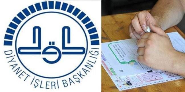 Diyanet personeli için Görevde Yükselme Sınavı açıldı