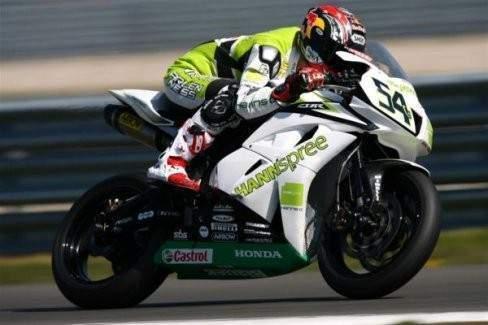 Dünya şampiyonundan motosiklet gösterisi