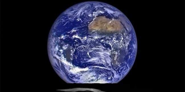 Dünya'ya birde ay yüzeyinden bakın
