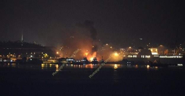 Haydarpaşa Limanı'nda peş peşe 5 patlama
