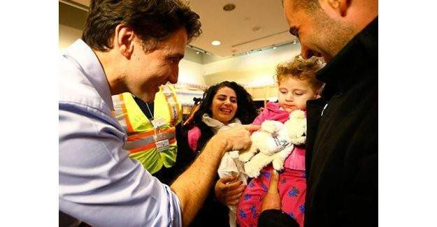 Kanada'nın ilk mülteci misafirleri