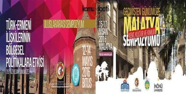Malatya ve Bitlis'te uluslararası sempozyum düzenlenecek