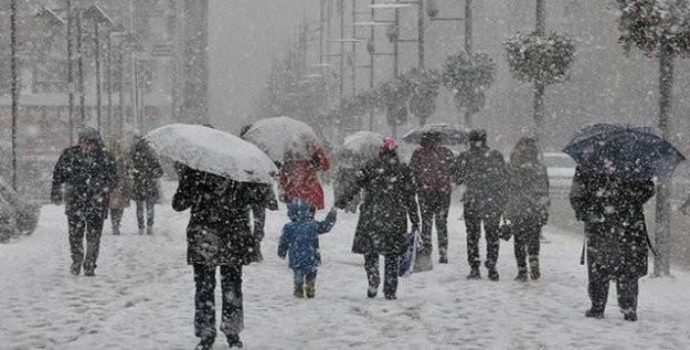 Meteoroloji uyardı! Şiddetli kar yağışı geliyor