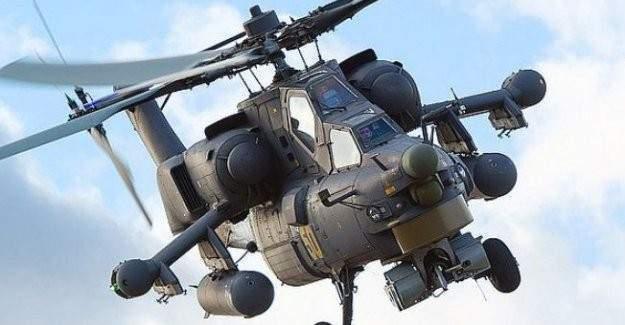 Rusya'dan 2 savaş helikopteri aldı!