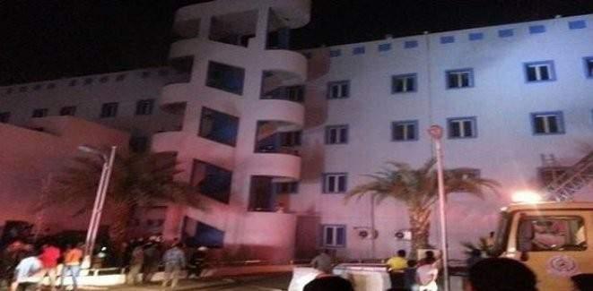 Suudi Arabistan'da yangın çıktı: 25 ölü