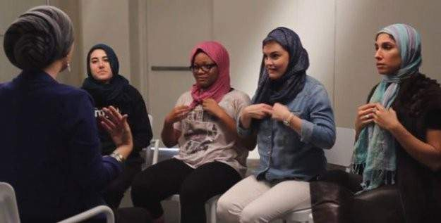 ABD'de dört kadın başörtüsü taktı ve deneyimlerini anlattı