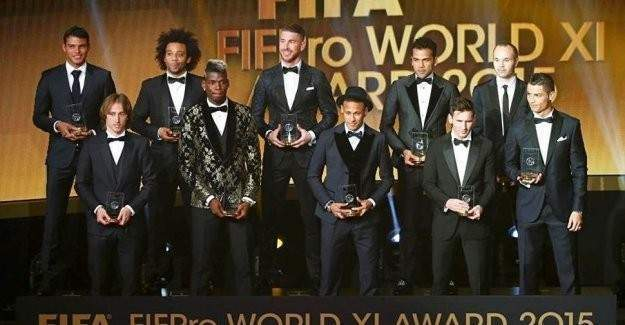 Altın Top 5. kez Messi'nin