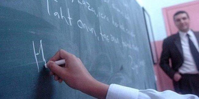 Danışman öğretmen için resmî yazı