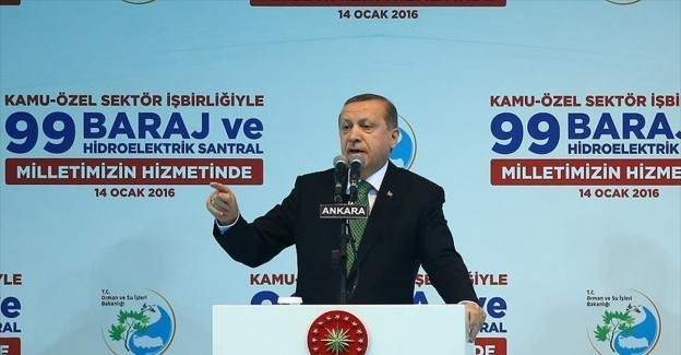 """Erdoğan: """"Vatanın birliğine karşı olan herkes bizim karşımızdadır"""""""