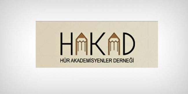 HAKAD üyesi akademisyenlerden 1128 akademisyene karşı bildiri