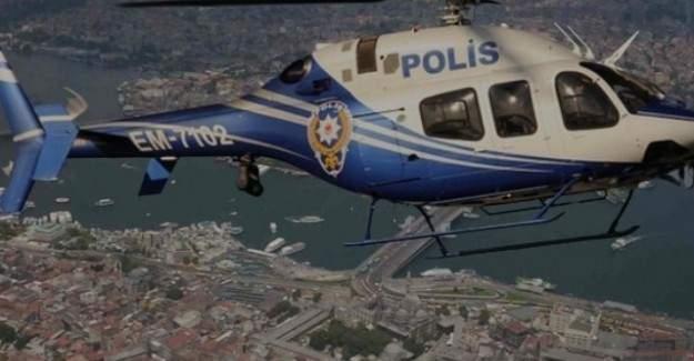 Istanbul'da helikopter destekli uyusturucu operasyonu