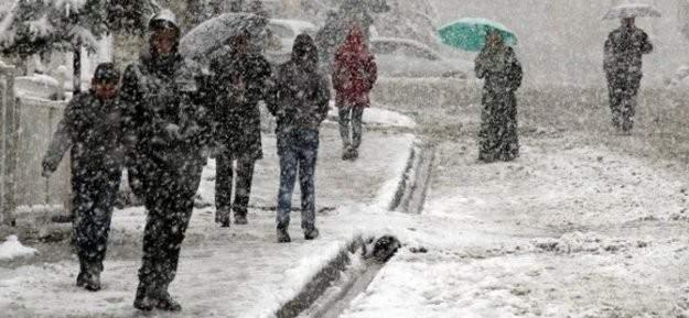 Meteoroloji'den son dakika ''kara kış 2016'' uyarısı