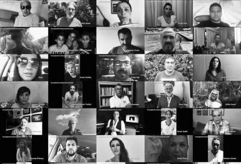 Teröre destek veren 1128 akademisyene 400 sanatçıdan destek
