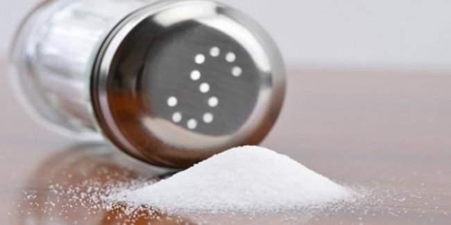 Türkiye'de tuz kullanım oranı daha da fazla azaldı!