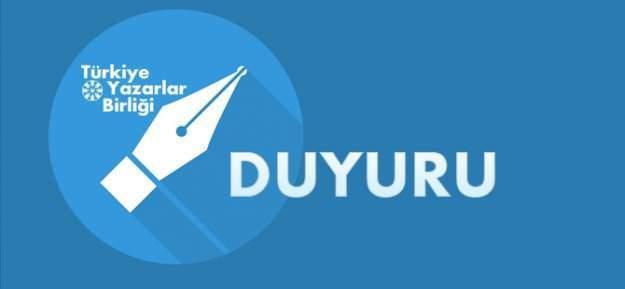 Türkiye Yazarlar Birliği'nden akademisyenlere karşı bildiri