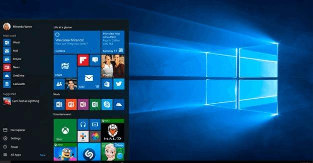 Windows 10 dev şirket Microsoft'u yerinden oynattı!