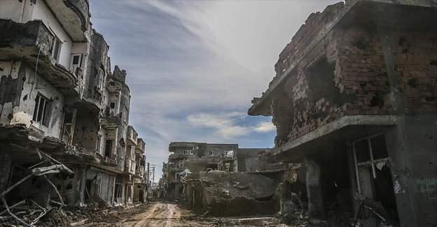 Teröristlerin Cizre'ye verdiği zarar