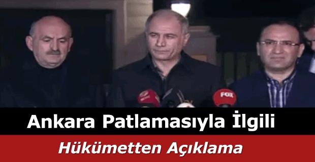 Efkan Ala'dan Ankara saldırısı açıklaması