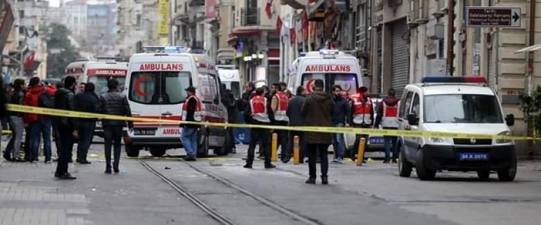 İstanbul İstiklal Caddesi patlama anının görüntüleri, İstiklal patlamasının videosu