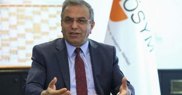 ÖSYM Başkanı Demir'den YGS için uyarı