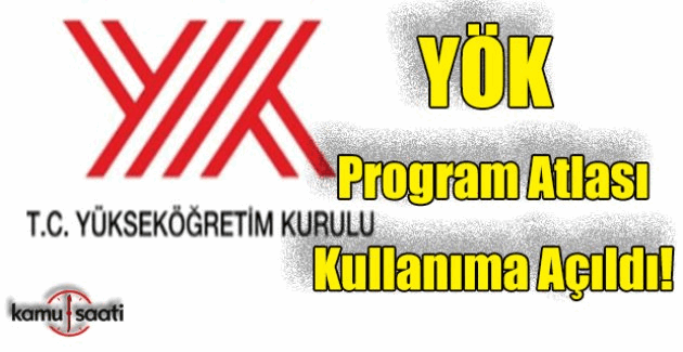 YÖK Program Atlası