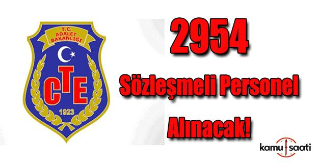 2954 personel alınacak!