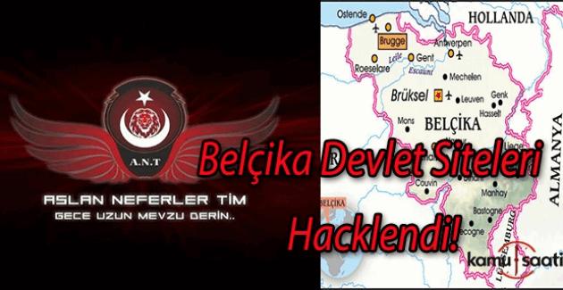 'Aslan Neferler Timi' Belçika Devlet Sitelerini hackledi
