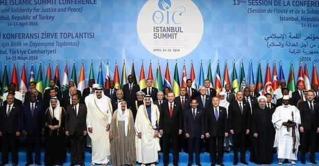 Erdoğan'ın kaleme aldığı, 13. İslam İşbirliği Teşkilatı Zirvesi başladı